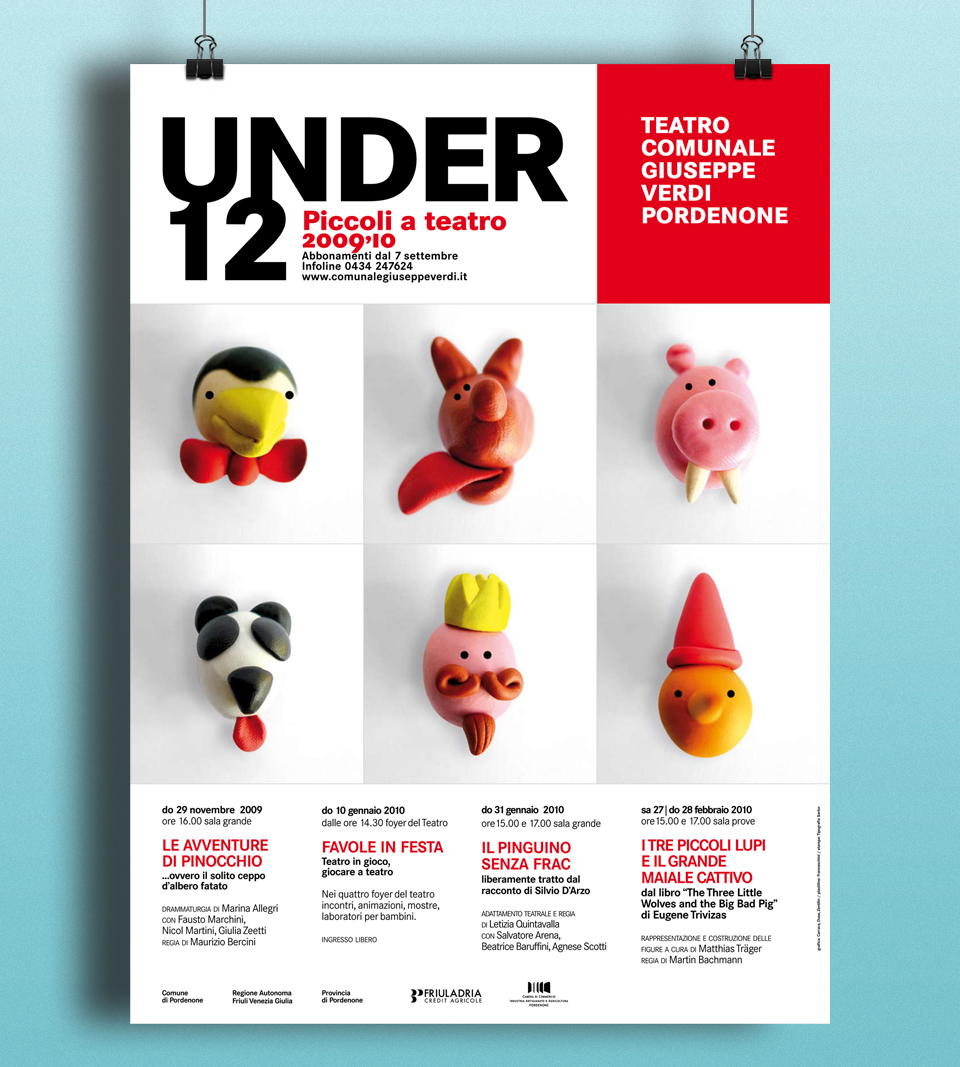 Myrodesign | Portfolio | UNDER12 poster 01